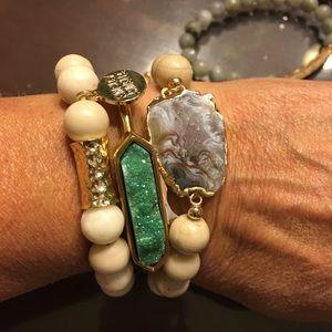 Kinsley Armelle Bracelets Triple Stack